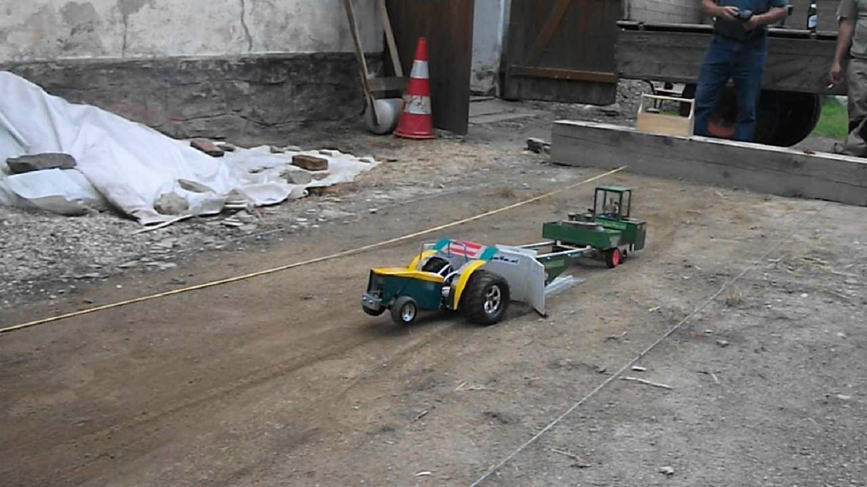2. RC-Traktor Pulling in Thuma | 27.06.15