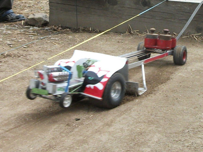 3. RC-Traktor Pulling in Thuma | 12.06.16