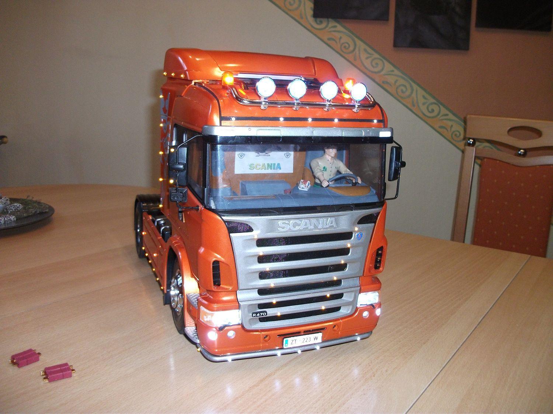 Mario Hahn's Scania V8